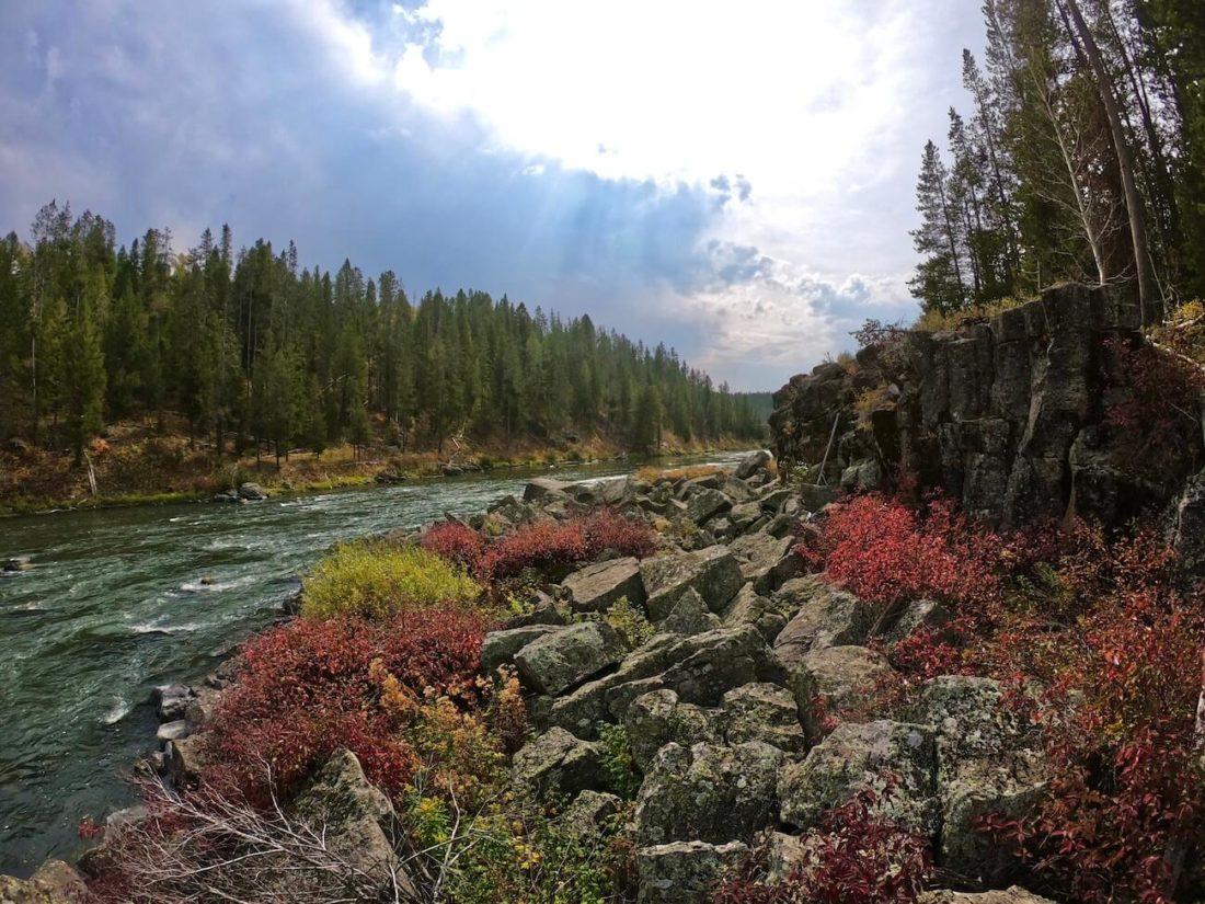river - bozeman montana cabin rentals